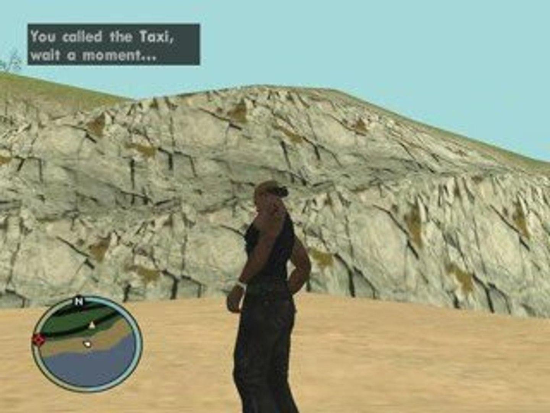 GTA  SA IV For ever - Da flying GTA IV Roman's Taxi